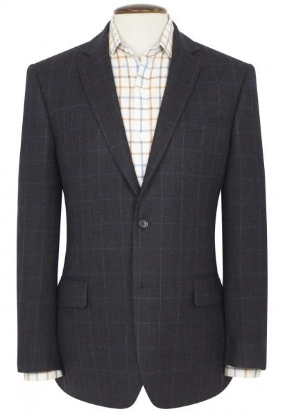 Herren Tweed Sakko Camberlay blau