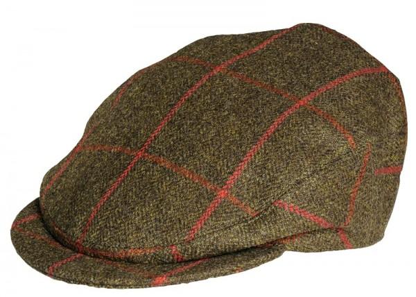Countryman Tweed Cap Dark Green