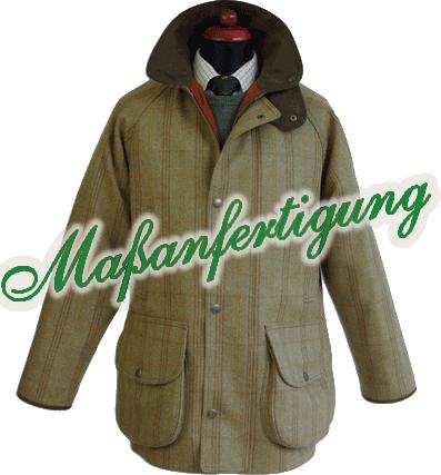 individuelle Tweed Jacke von Chrysalis