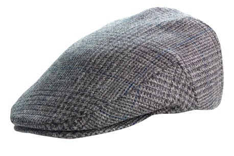 Tweed Cap Glen Check grey
