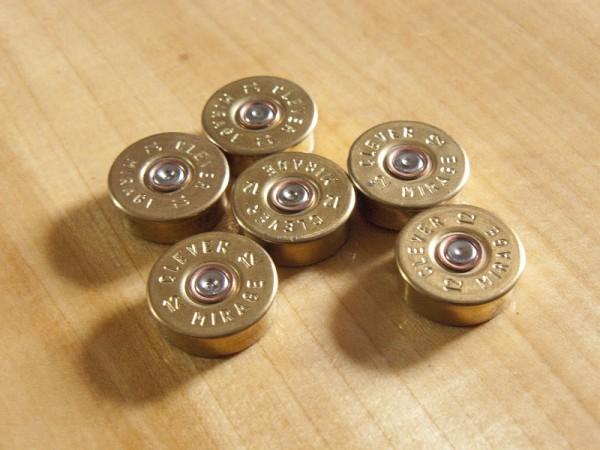 Schrotpatronen Kühlschrank-Magnete