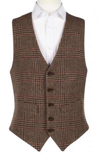 englische Herren Tweed Weste