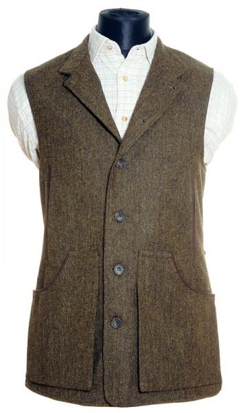 Herren Tweed Weste Tay
