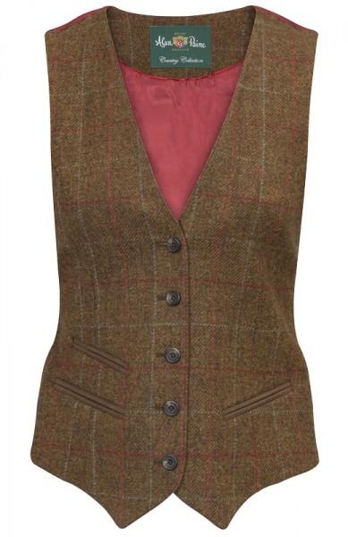 Damen Tweed Weste britisch