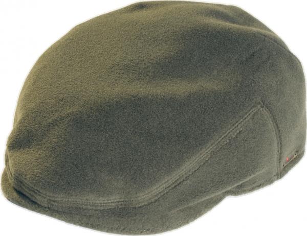 Fleece Kappe mit Ohrenklappen grün