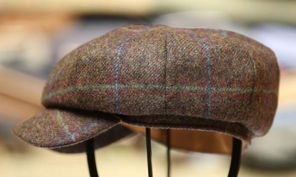 Damen Tweed Cap