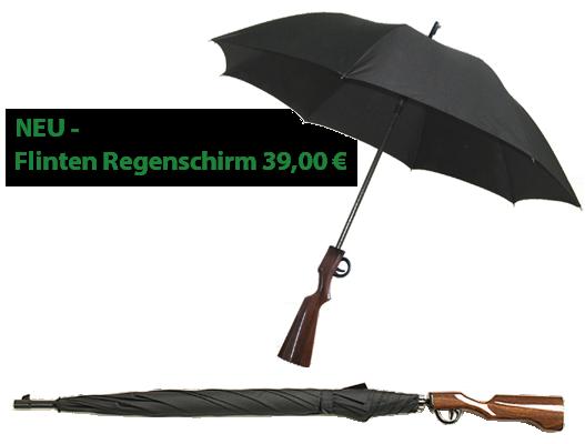 Flinten Regenschirm