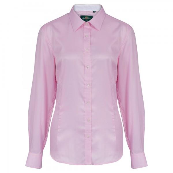 englisches Damen Jagdhemd und Countryshirt in Pink