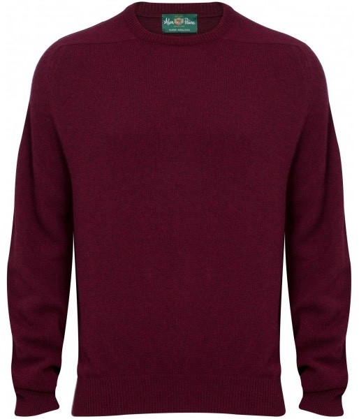 Pullover Stratford bordeaux Lambswool