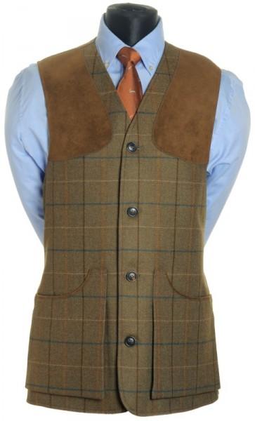 Tweed Jagdweste Chrysalis