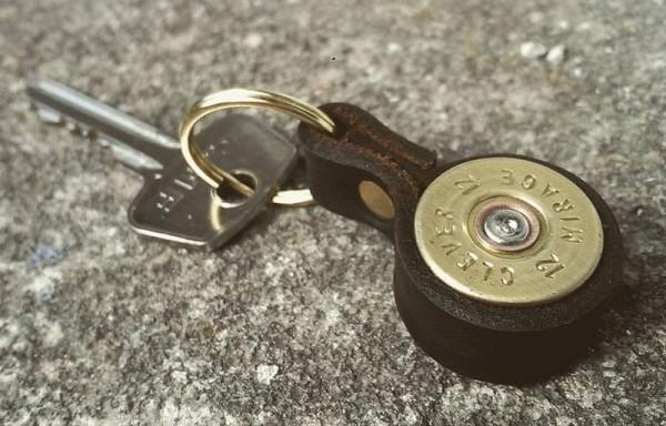 Schlüsselanhänger Schrotpatrone