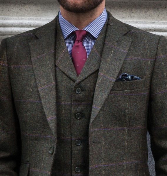 Herren Tweed Sakko