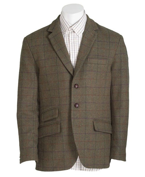 Herren Tweed Hacking Jacket
