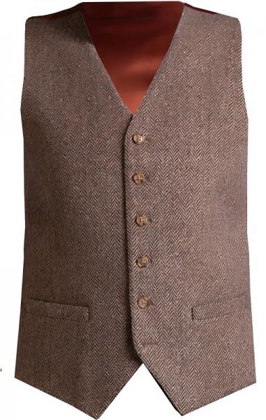 Donegal Herren Tweed Weste