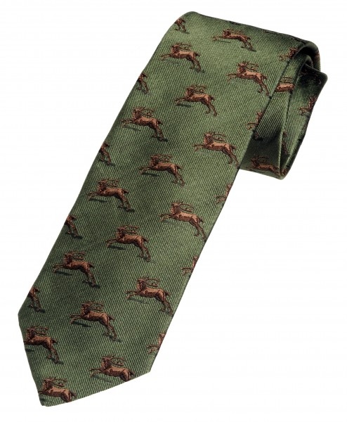 Hirsch Krawatte für Jäger