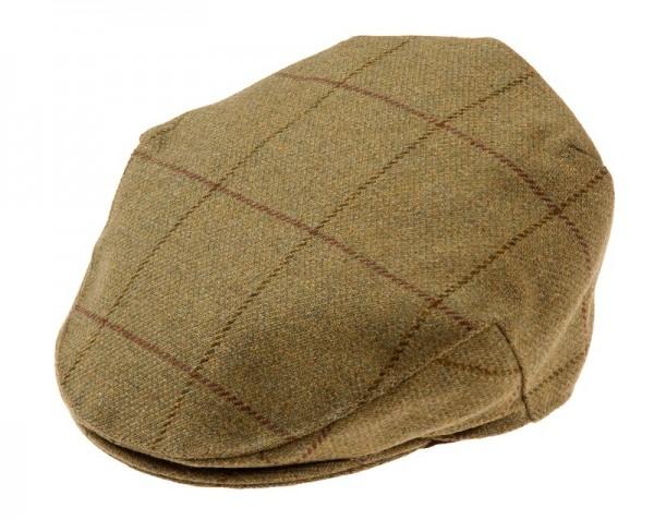 Herren Tweed Kappe in Lichen