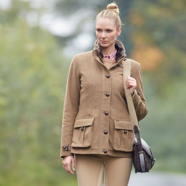 Damen Jagd Tweed Jacke Taymouth