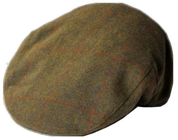 Tweed Cap Compton Green-Brown