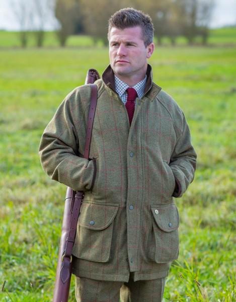 Herren Tweed Jacke Compton Sage