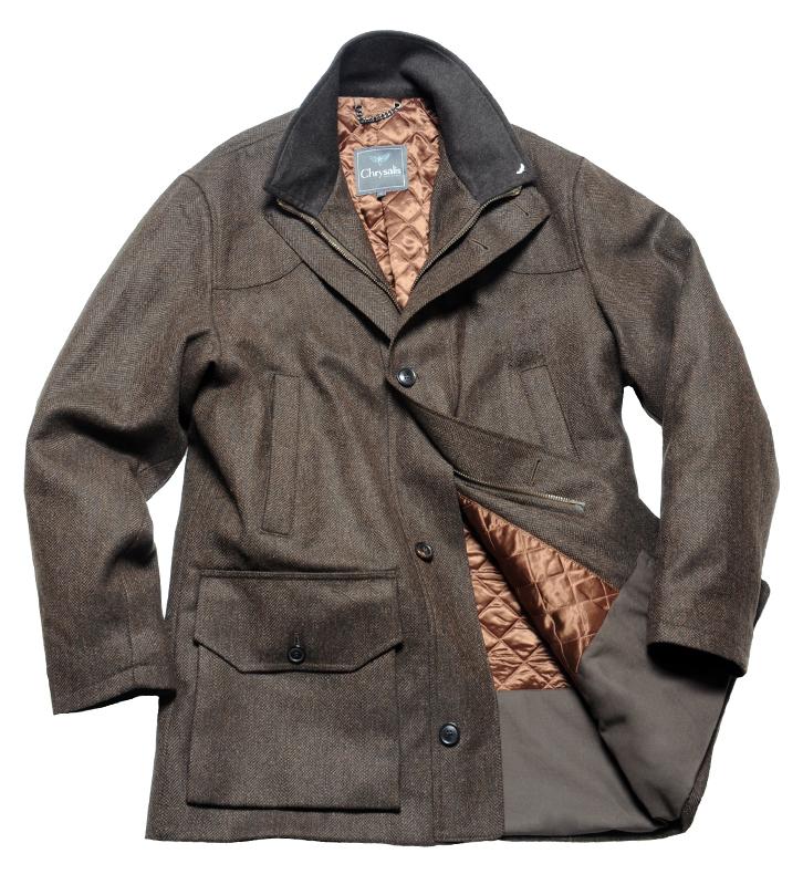 Chrysalis Herren Tweed Jacke Victor Houndstooth Pattern