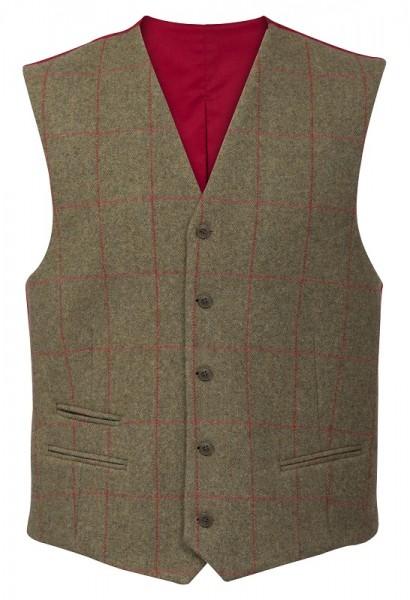 Combrook Herren Tweed Weste