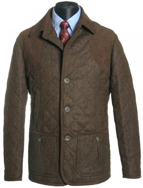 Tweed Steppjacke Thornham