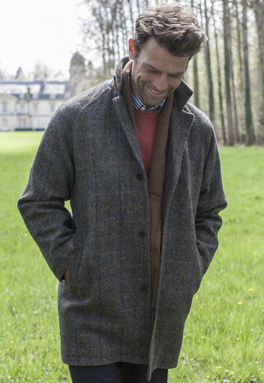 harris tweed herren tweed mantel tweedshop. Black Bedroom Furniture Sets. Home Design Ideas