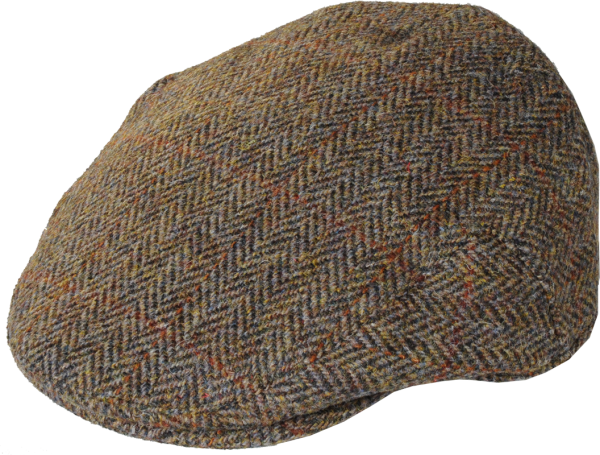 Harris Tweed Kappe Overcheck