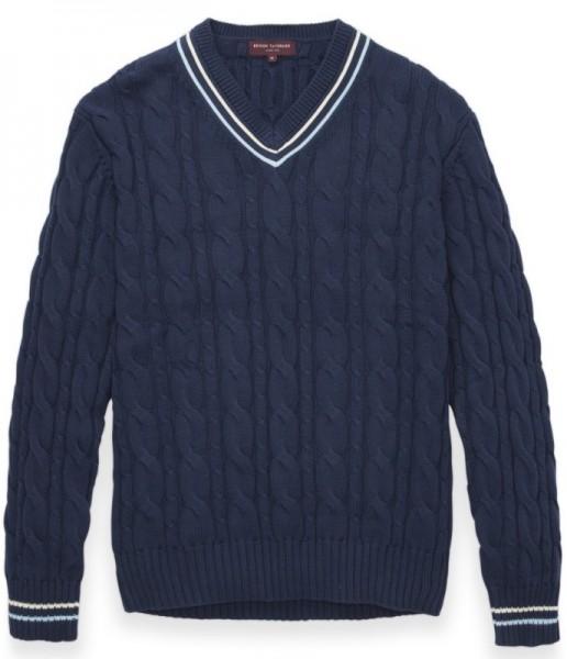 Cricket Pullover Blau