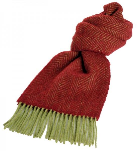 warmer Merino-Kashmir Schal rot
