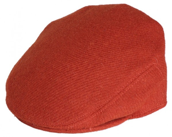 Harris Tweed Caps orange