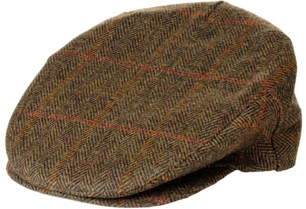 Tweed Cap John Hanly brown